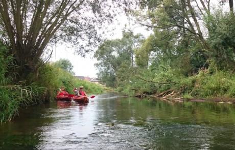 spływ rzeką Liswartą